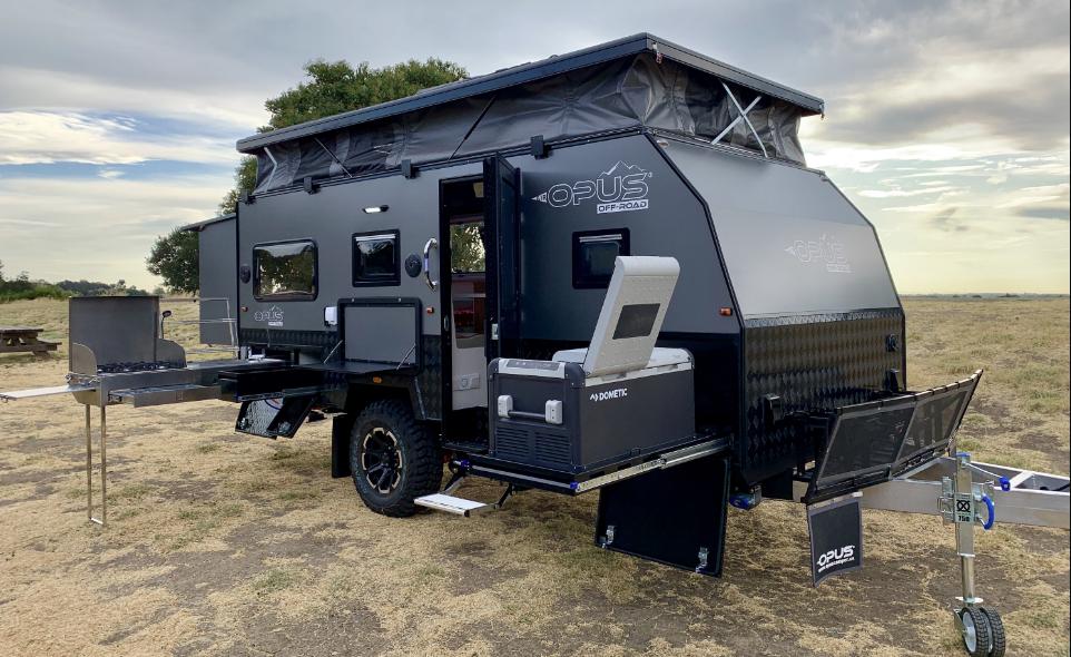 cooking in caravans